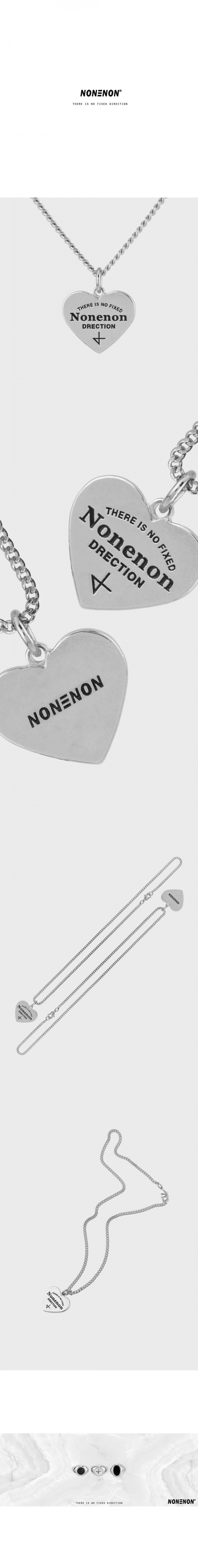 논논(NONENON) NEW LOGO LOVE NEC