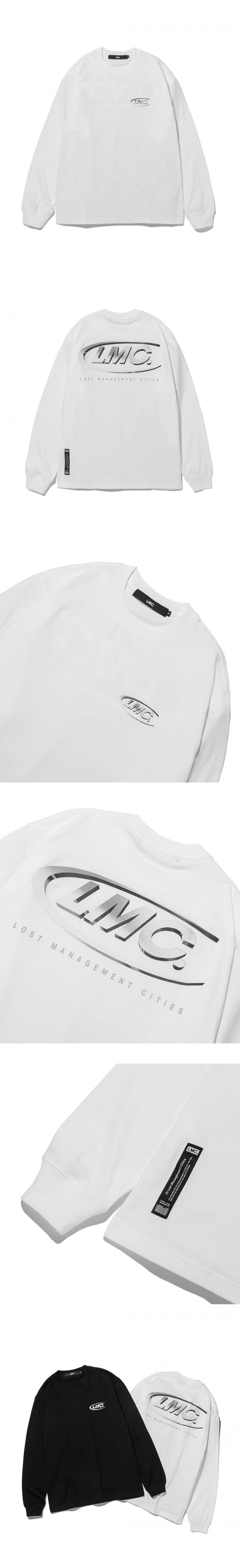 엘엠씨(LMC) LMC 3D CO LONG SLV TEE white