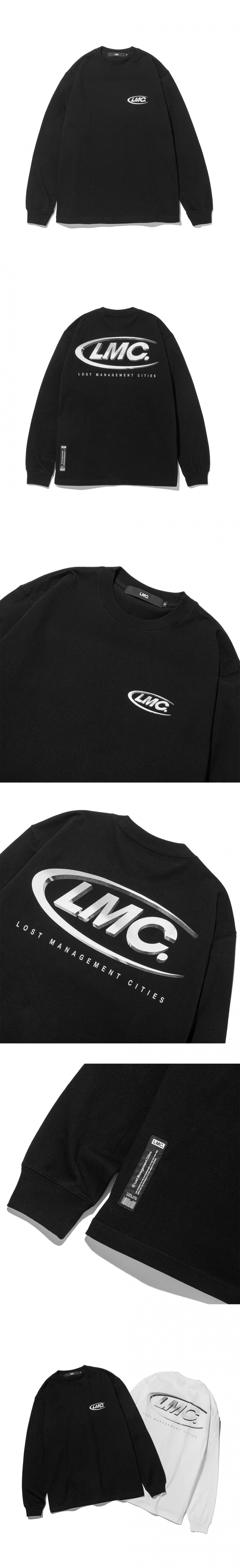 엘엠씨(LMC) LMC 3D CO LONG SLV TEE black