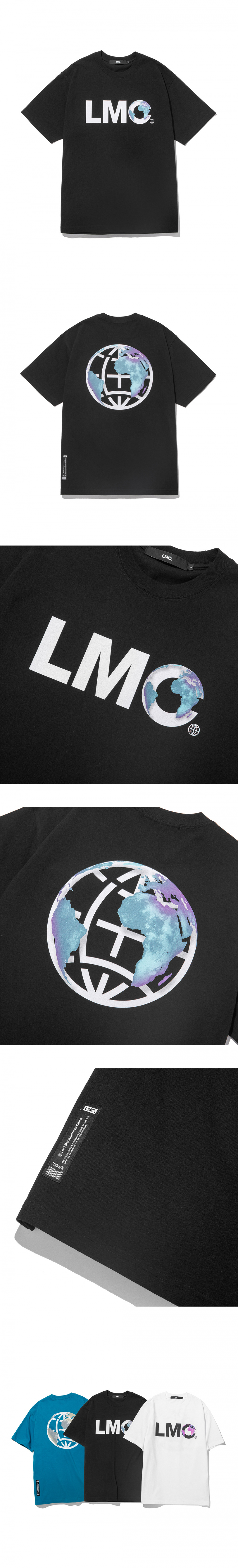 엘엠씨(LMC) LMC EARTH LOGO TEE black