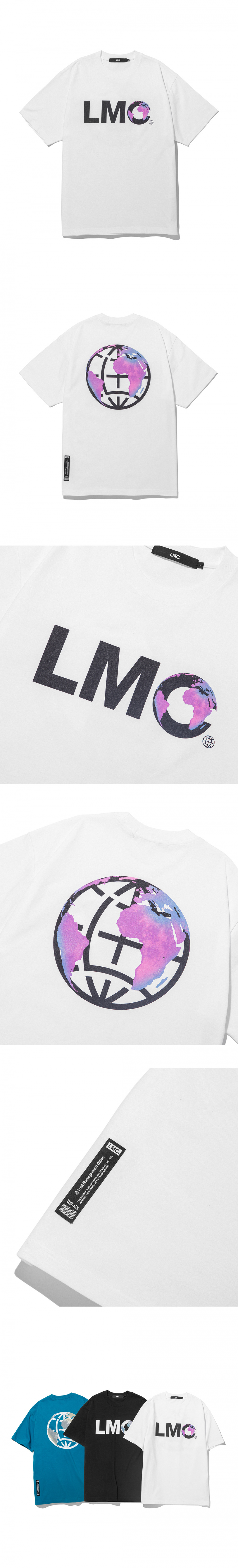 엘엠씨(LMC) LMC EARTH LOGO TEE white