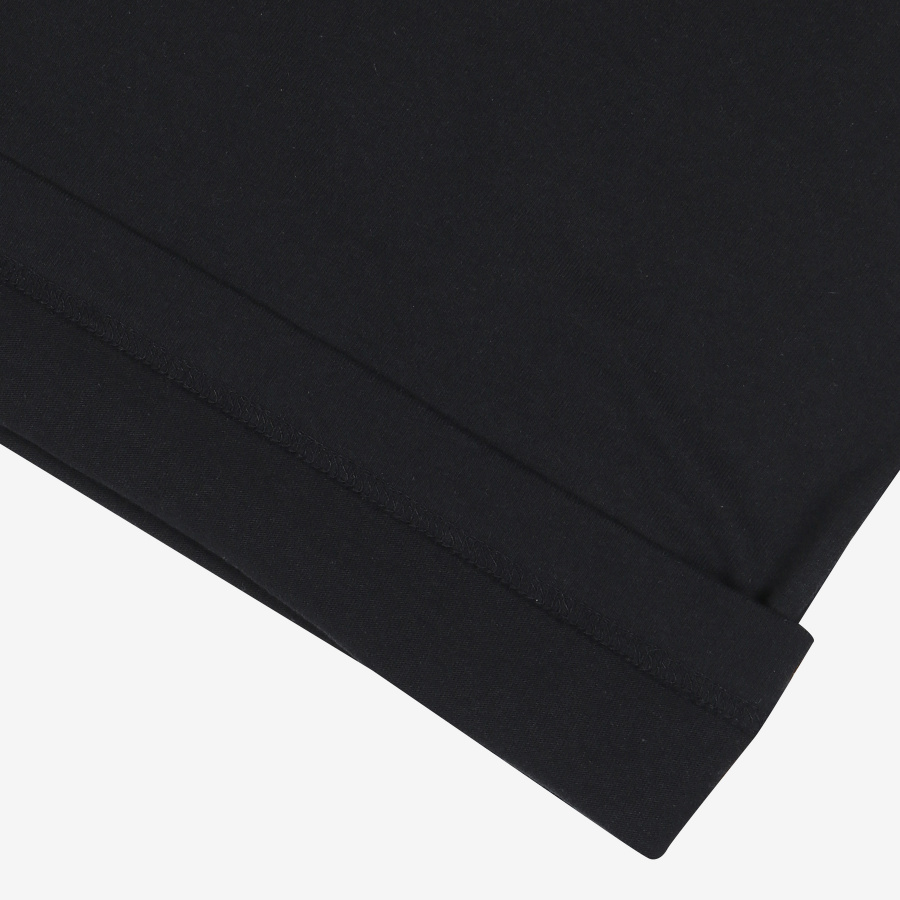 FILA Sketch線性寬鬆Polo衫(FE2RSB5111XBLK)