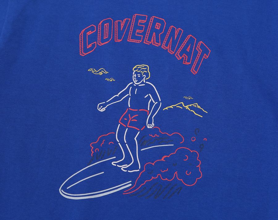 커버낫(COVERNAT) COVERNAT X RED BULL S/S SURFER MAN TEE ROYAL BLUE