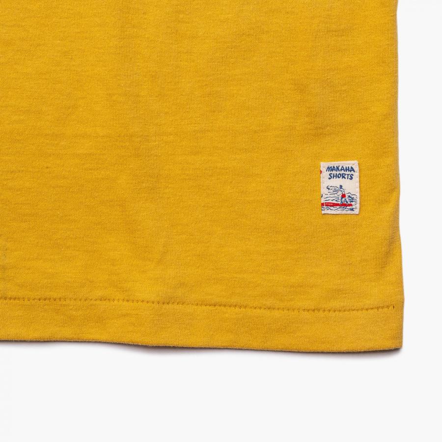엠니(M.Nii) ALL AROUND Logo T-Shirt / Mustard