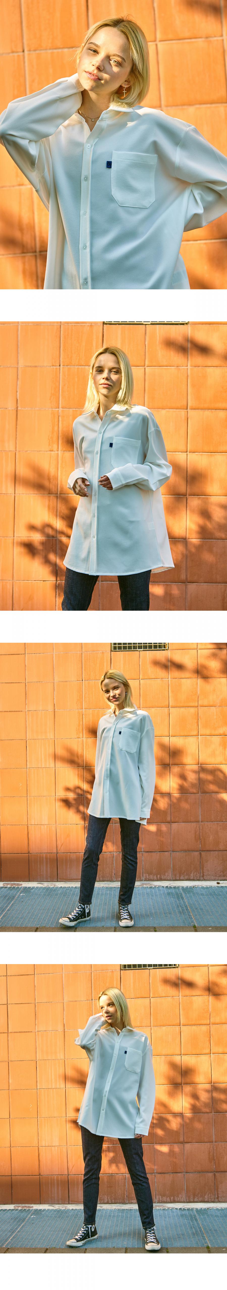 86로드(86ROAD) 2722 Oversize shirts (White)