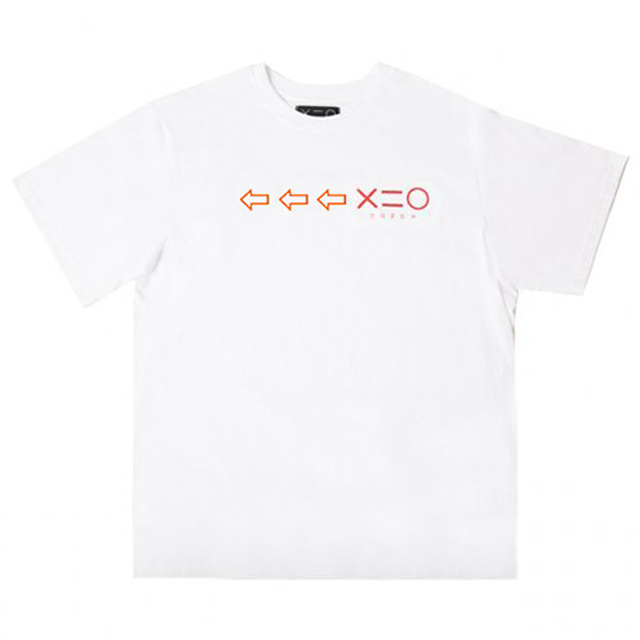 도조(DOZOH) WHITE DOZOH OR/RED ARROW&LOGO T-SHIRTS
