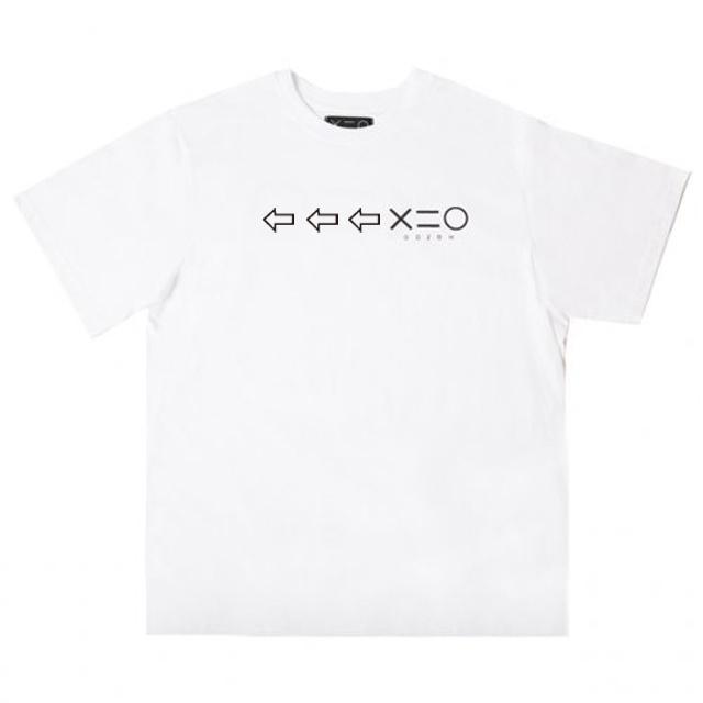도조(DOZOH) WHITE DOZOH BLACK ARROW&LOGO T-SHIRTS