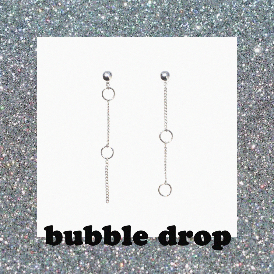 캡틴바나나(CAPTAINBANANA) BUBBLE DROP EARRINGS