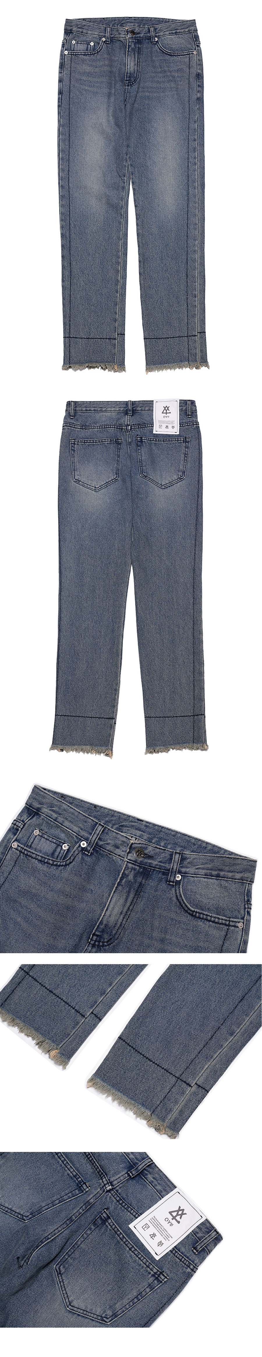 오와이(OY) STITCH DENIM JEANS