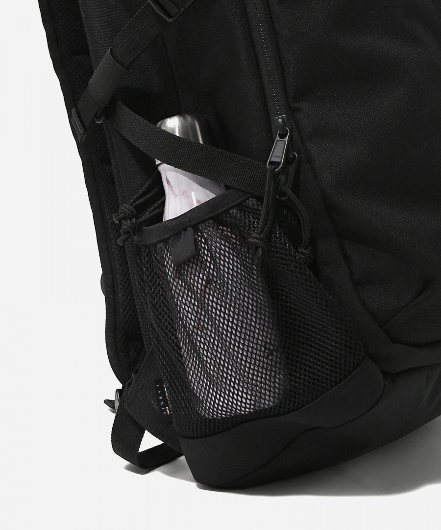 커버낫(COVERNAT) CORDURA AUTHENTIC LOGO TRAVELING RUCKSACK BLACK