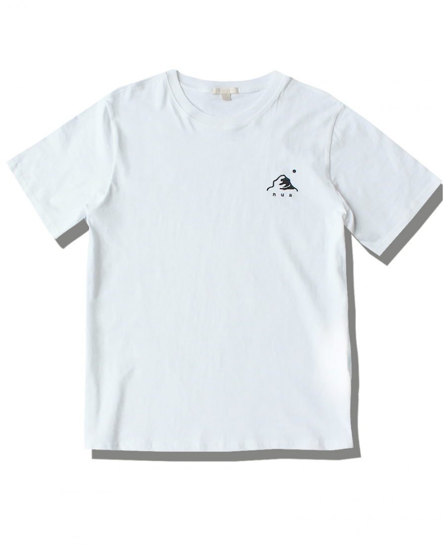 누아네임(NUANAME) nua slim fit_t white