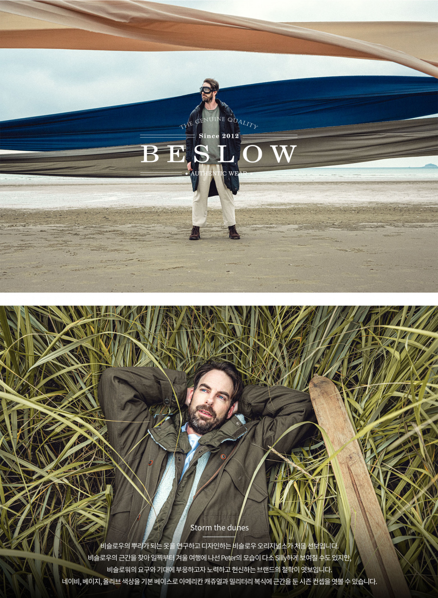비슬로우 오리지널스(BESLOW ORIGINALS) 19FW COMFY MILITARY JACKET LIGHT OLIVE