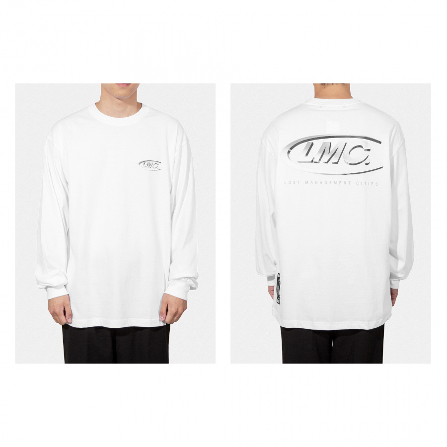 엘엠씨(LMC) LMC 3D CO LONG SLV TEE white
