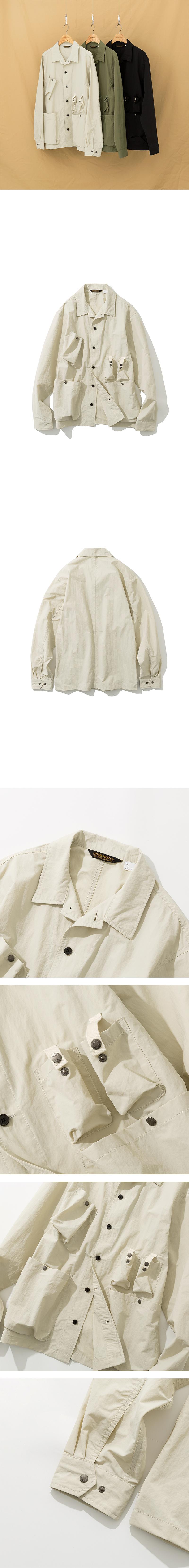 유니폼브릿지(UNIFORM BRIDGE) 19fw utility jacket off white