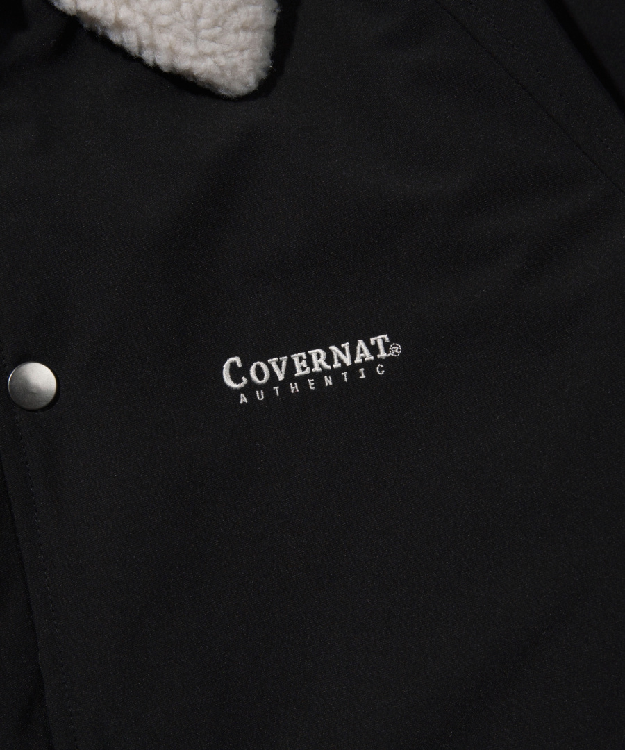 커버낫(COVERNAT) BOA COACH JACKET BLACK