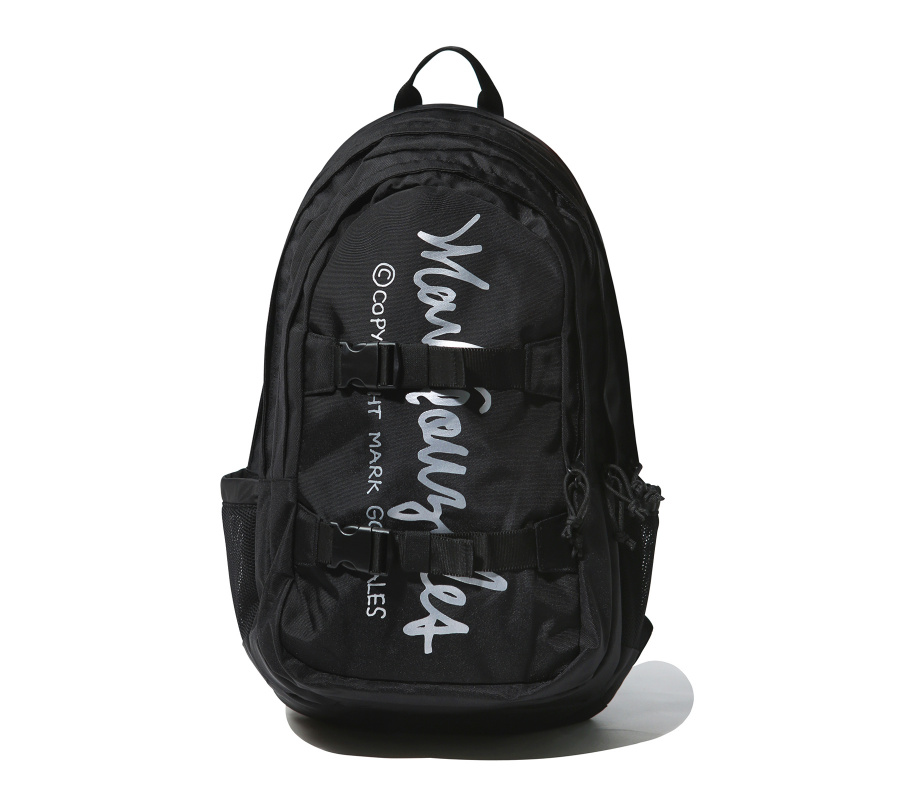 마크 곤잘레스(MARK GONZALES) M/G BIND BACKPACK BLACK
