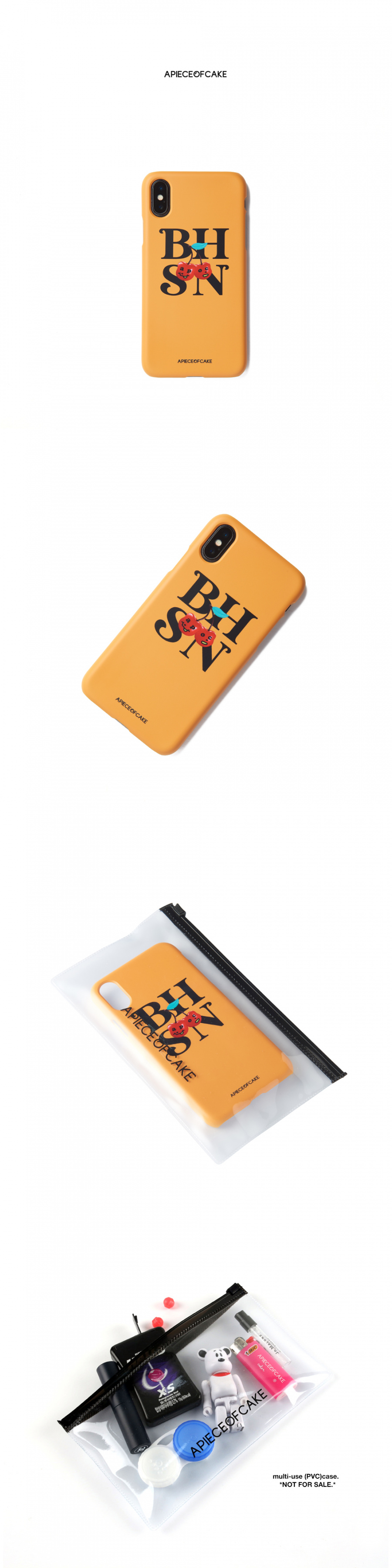 어피스오브케이크(APOC) BHSN Phone Case_Yellow