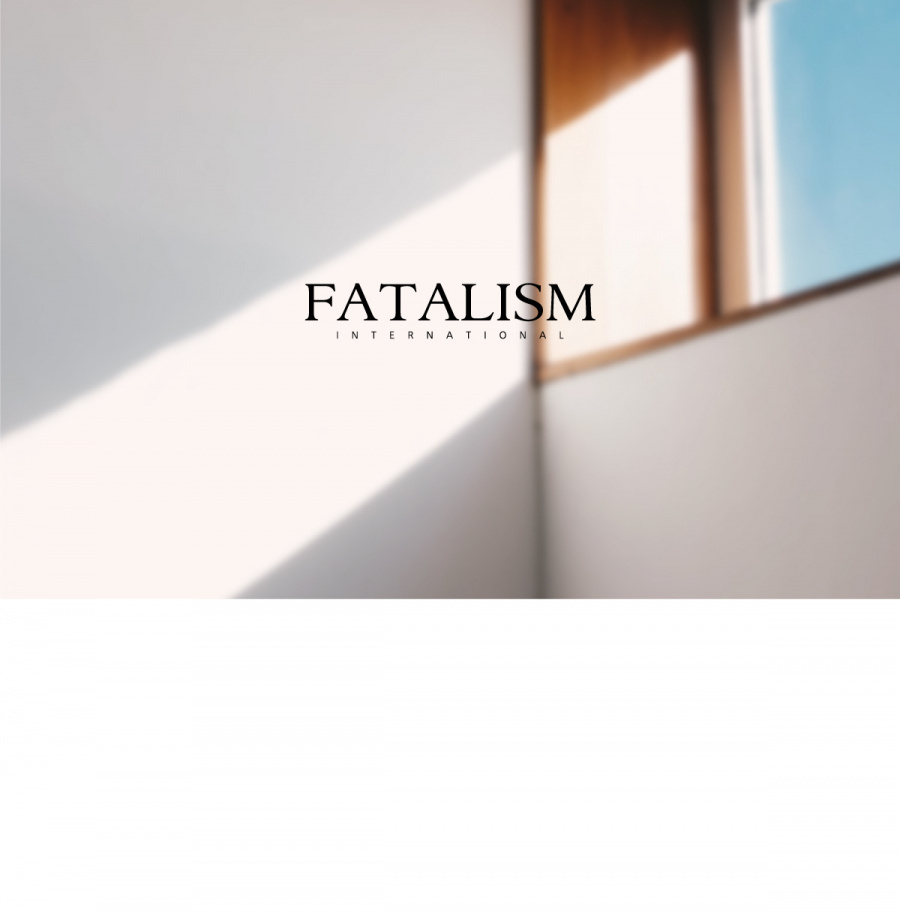 페이탈리즘(FATALISM) middle blue  ordinary crop  fit #0091