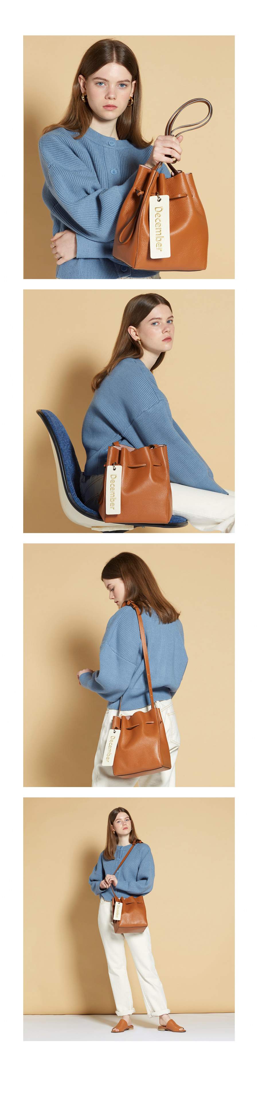 아보네(ABONNE) JUDD bag brown