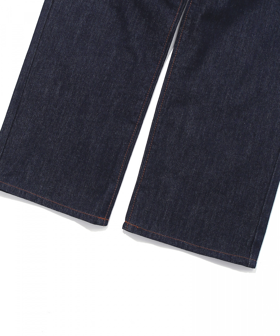 커버낫(COVERNAT) (WOMEN) HIGH WAIST DENIM PANTS INDIGO