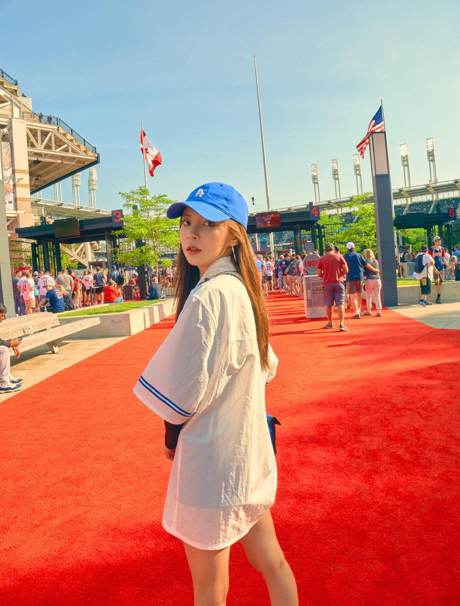 엠엘비(MLB) 루키 볼캡 LA(BLUE)