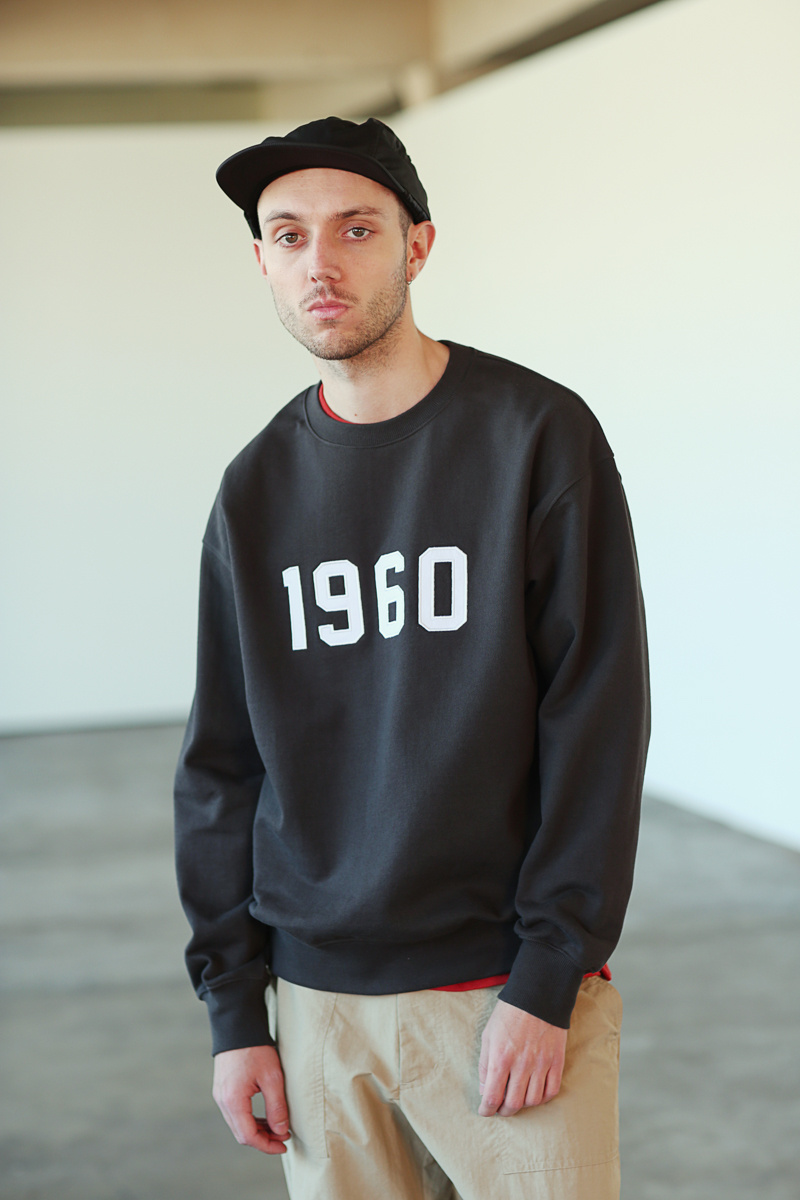 유니폼브릿지(UNIFORM BRIDGE) 1960 sweatshirts navy