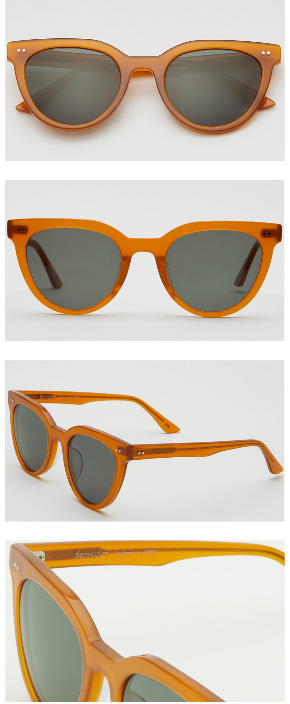 세미콜론 아이웨어(SEMICOLON EYEWEAR) Vivo Pumpkin