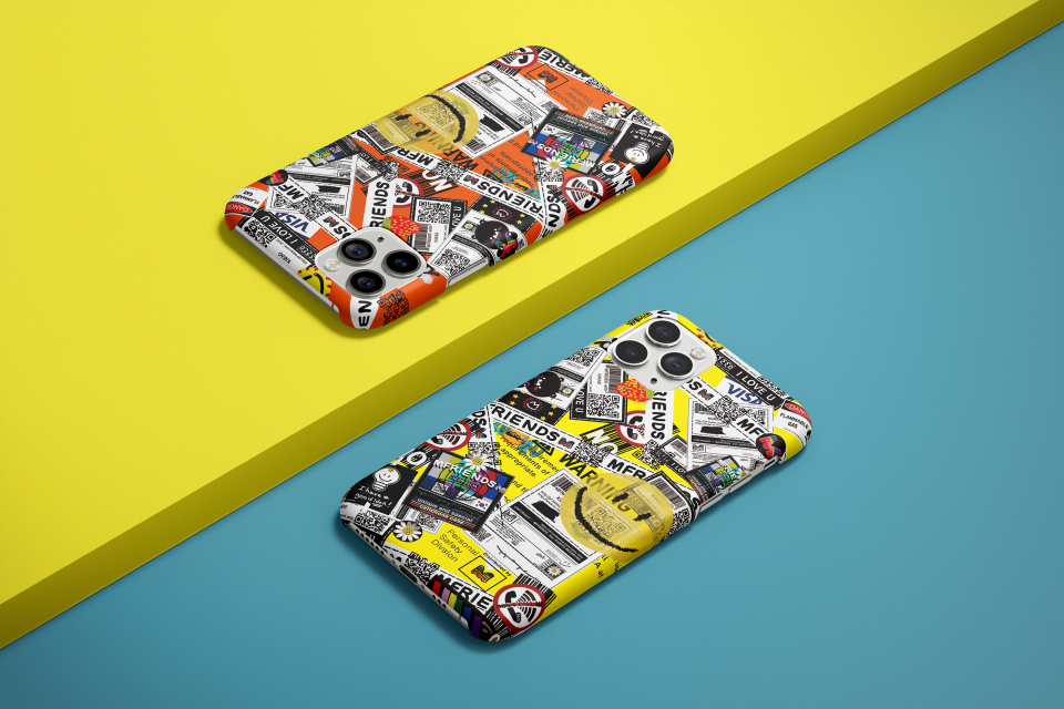 엠프렌즈(MFRIENDS) case_390_sticker pattern