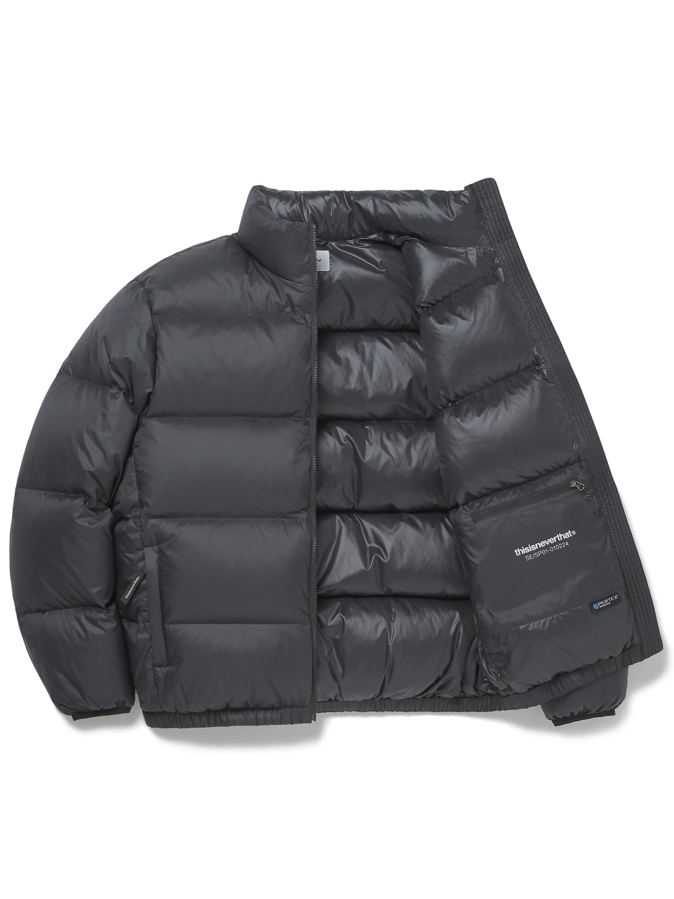 디스이즈네버댓(THISISNEVERTHAT) PERTEX® T Down Jacket Black