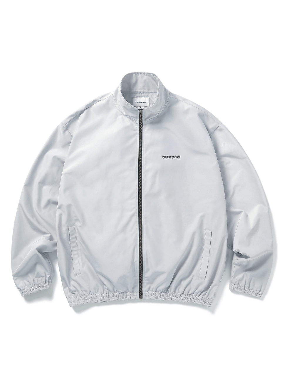 디스이즈네버댓(THISISNEVERTHAT) INTL. Team Jacket Light Grey