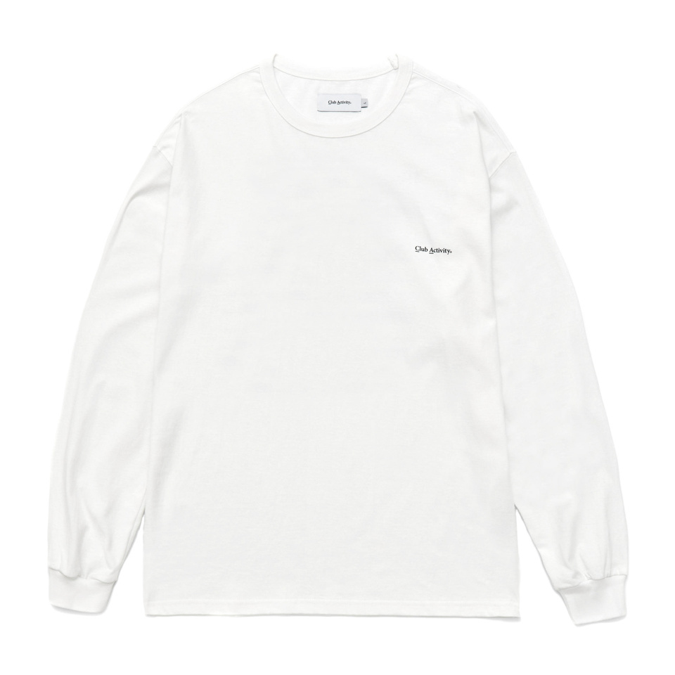 씨에이(CA) The Rangking Long Sleeve (WHITE)