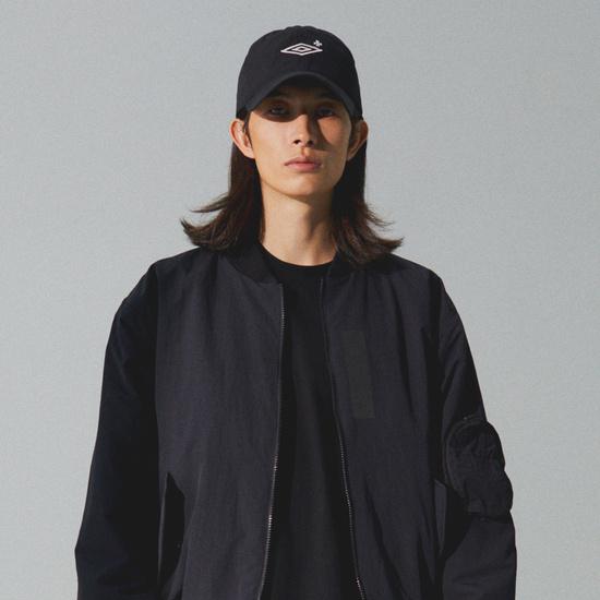 엄브로(UMBRO) Nylon Ball Cap Black (U0421CCPN7)