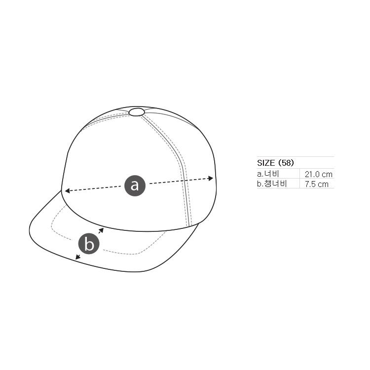 잭니클라우스(JACKNICKLAUS) [JN X SFM] 남성 하프문 자수 캡_LBRAM20521NYX