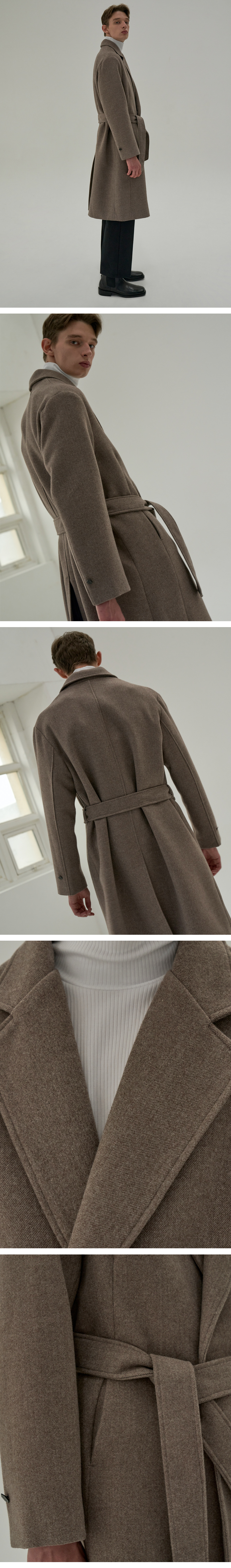 트립르센스(TRIP LE SENS) LE ROBE COAT_BROWN