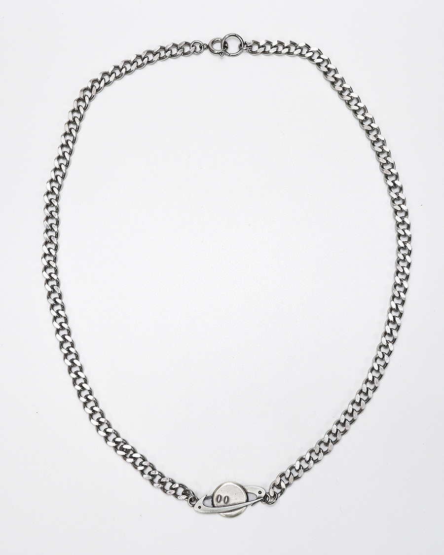 그레이노이즈(GRAYNOISE) smileship necklace