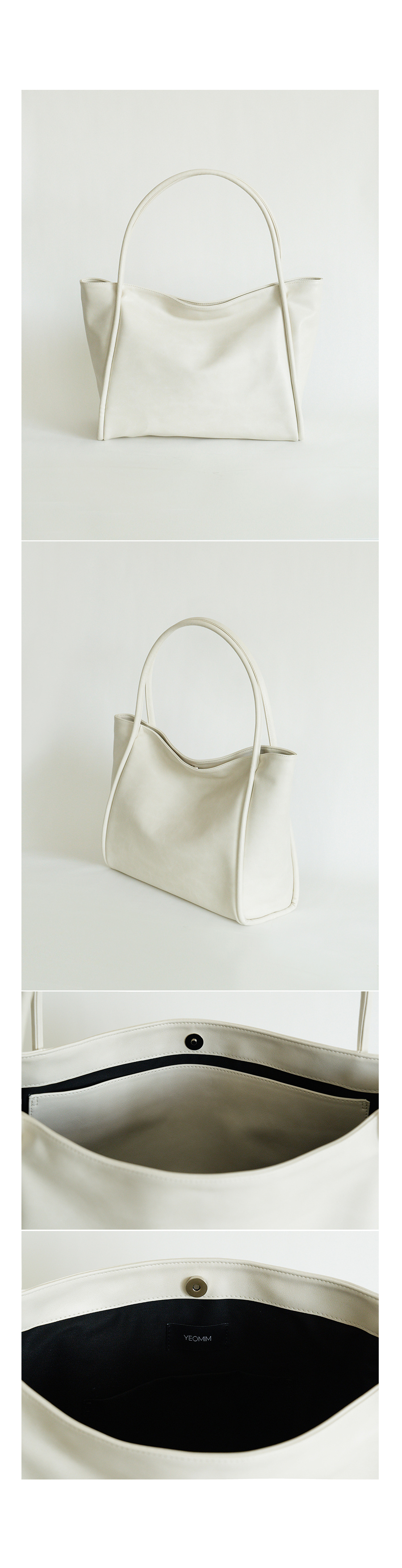 여밈(YEOMIM) dapper bag (cream)