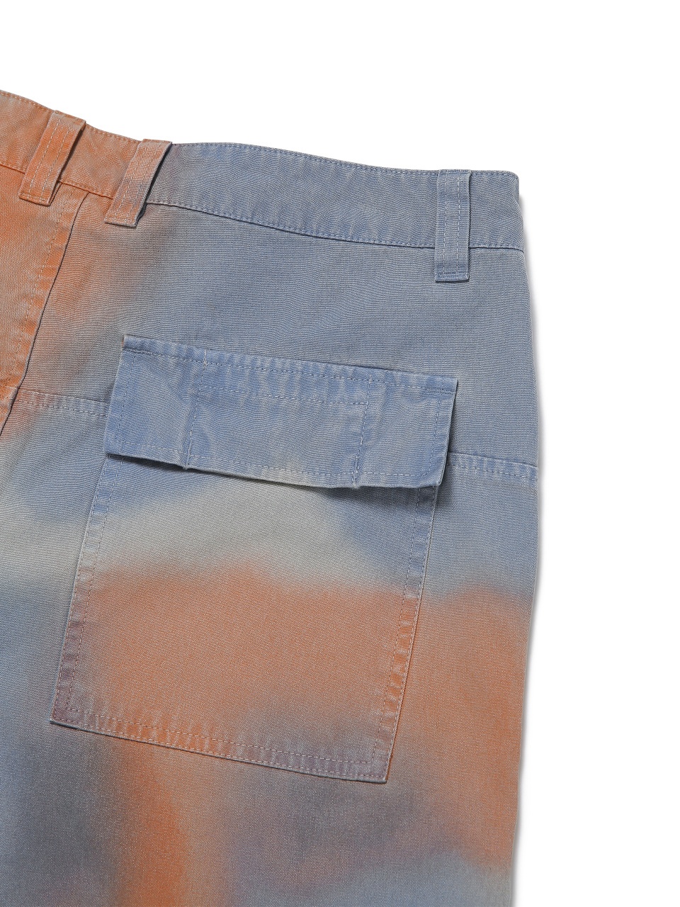 디스이즈네버댓(THISISNEVERTHAT) Fatigue Pant Blue/Orange