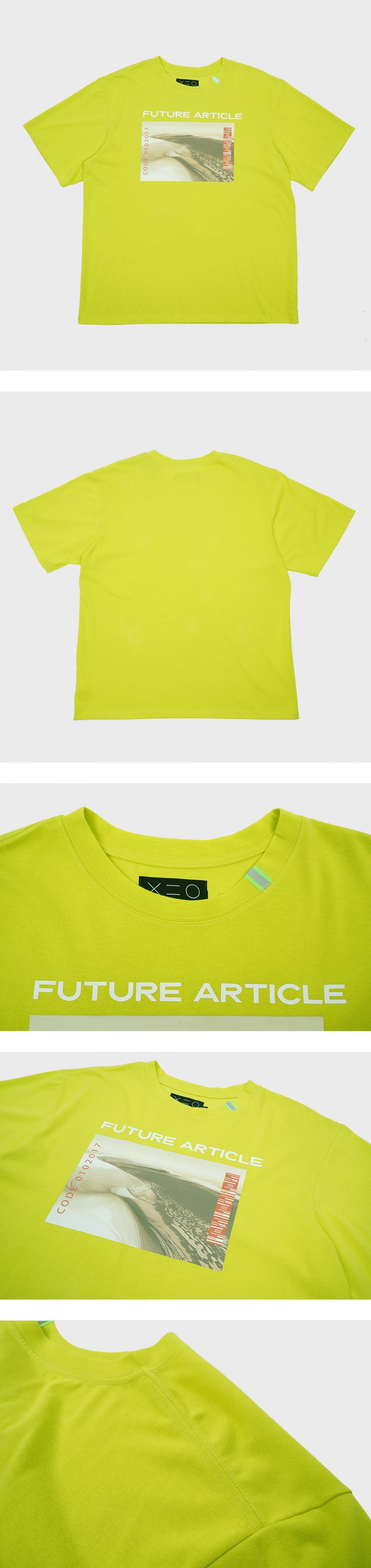 도조(DOZOH) GREEN FUTURE  GRAPHIC T-SHIRTS