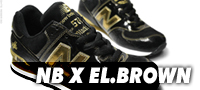 New Balance x El.Brown - Black Mic