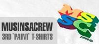 MUSINSACREW 3rd `PAINT` T-shirts