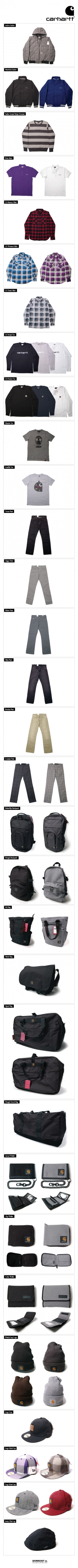CARHARTT FW08 delivery 2