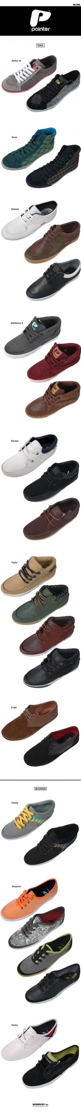 Pointer footwear fall 08