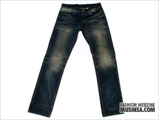 Leaf denim pants (Indigo) 발매소식입니다.