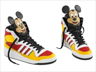 Jeremy Scott x adidas Originals by Originals 2010 Spring/Summer Mickey Hi