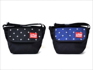 Manhattan Portage Embroidered Casual Messenger Bags