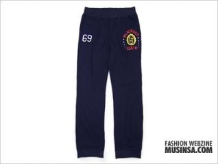College active pants navy
