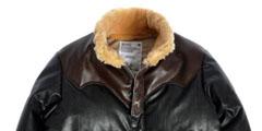 디아프바인의 10-11 F/W 마스터피스, 레더 다운 쟈켓
