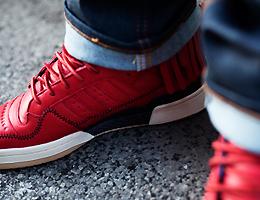 Leaders 1354 x adidas Originals Forum Moccasin Mid