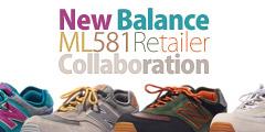 New Balance ML581 x Retailer Collaboration