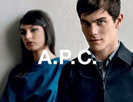 A.P.C. Resort Collection Fall/Winter 2013